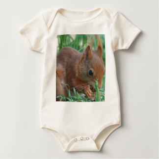 Squirrel - Jean Louis Glineur Photography Baby Bodysuit