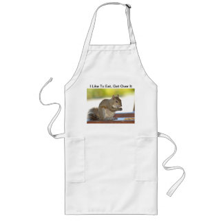 Squirrel Like to eat Apron