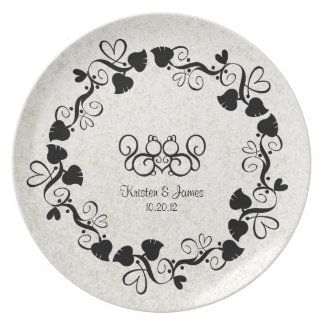 Squirrel Love Wedding Signature Plate