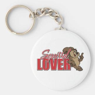 Squirrel Lover Keychain