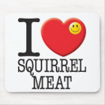 Squirrel Meat Mouse Pad