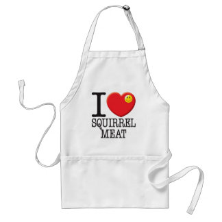 Squirrel Meat Standard Apron