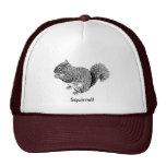 Squirrel Mesh Hats