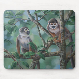 Squirrel Monkeys Mousemat Mouse Pad