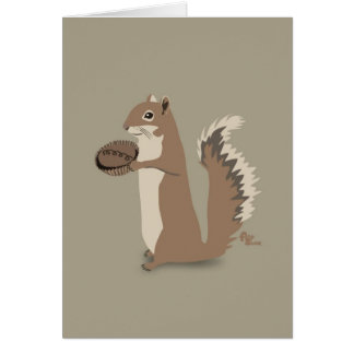 Squirrel Mother's Day Card