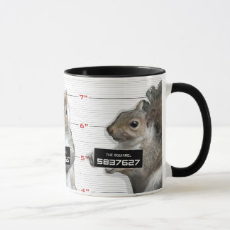 Squirrel Mug Shot