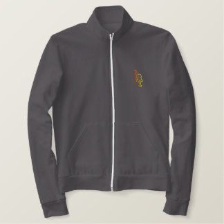 Squirrel Outline Embroidered Jackets