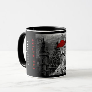 Squirrel Painter is the The Artist Funny Mug