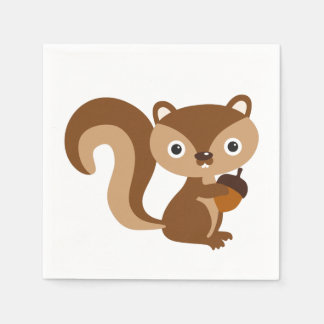 Squirrel Paper Napkins