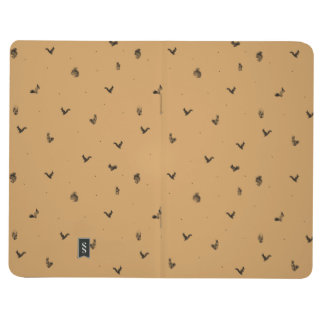 Squirrel pattern journal