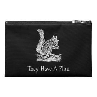 Squirrel Plan Travel Accessory Bag