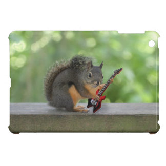 Squirrel Playing Electric Guitar Cover For The iPad Mini