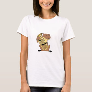 Squirrel Playing the Euphonium T-Shirt