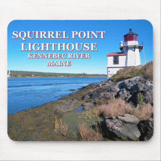 Squirrel Point Lighthouse, Maine Mousepad