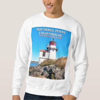 Squirrel Point Lighthouse, Maine Sweatshirt