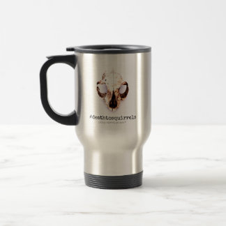 SQUIRREL SKULL travel mug stainless