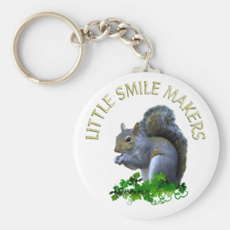 Squirrel Smile Makers Keychain