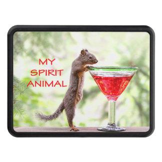 Squirrel Spirit Animal Trailer Hitch Cover