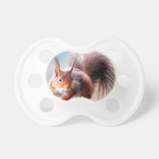 Squirrel squirrel Écureuil Baby Pacifiers