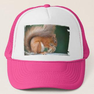 Squirrel Squirrel Écureuil Trucker Hat