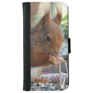 Squirrel ~ squirrels ~ Écureuil - of GLINEUR iPhone 6 Wallet Case