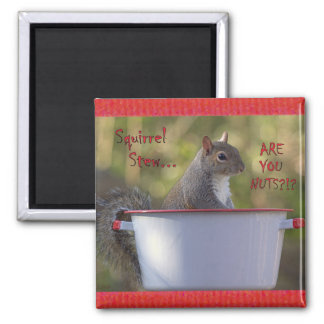Squirrel Stew... ARE YOU NUTS?!? Magnet