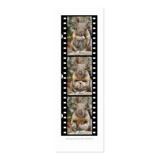 Squirrel Surprise Bookmark Mini Business Card