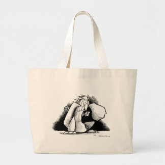 Squirrel tastes like chicken... jumbo tote bag