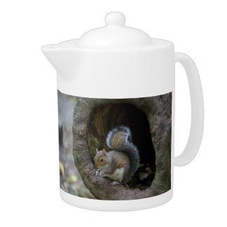 Squirrel Teapot