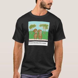 squirrel v. Prius (color).jpg T-Shirt