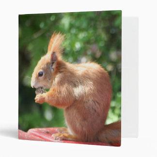 Squirrel Vinyl Binders