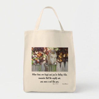 SQUIRREL WISDOM TOTE BAG