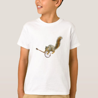 Squirrel with Banjo T-Shirt