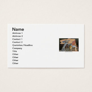 Squirrel with Guitar Business Card