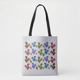 Squirrelin Around Tote Bag