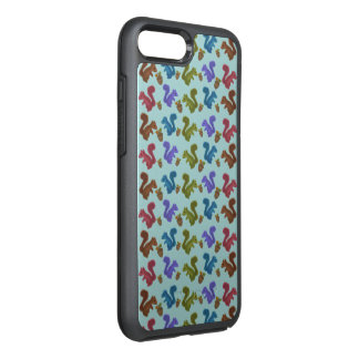 Squirrels Pattern OtterBox Symmetry iPhone 8 Plus/7 Plus Case