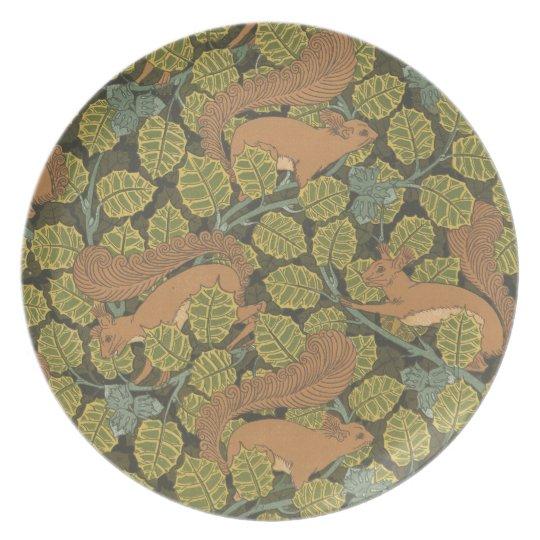 Squirrels Plate