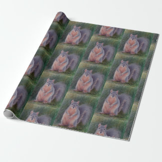 Squirrels Wrapping Paper