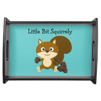 Squirrely Service Trays