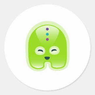 Squishies Green Wassat Stickers