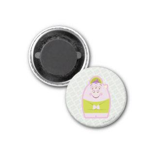Squishy 1 1 inch round magnet