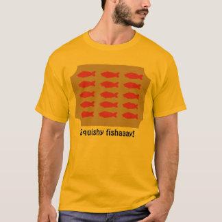 Squishy fishaaay on plaque shirt