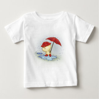 Squishy Littlekins in the Rain Baby T-Shirt
