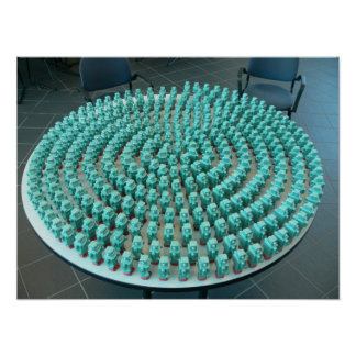Squishy Robot Spiral Print
