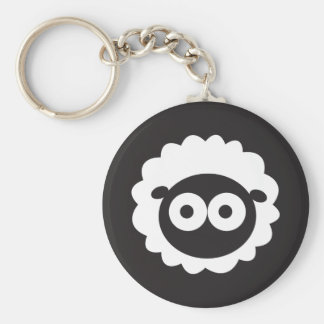 Squishy Sheep Keychain