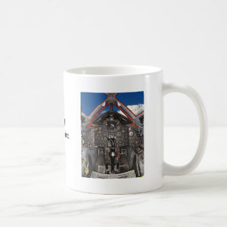 SR71 Blackbird Aircraft Cockpit Coffee Mug