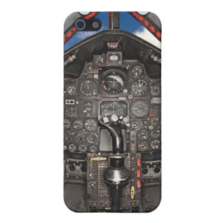 SR71 Blackbird Aircraft Cockpit iPhone 5/5S Covers