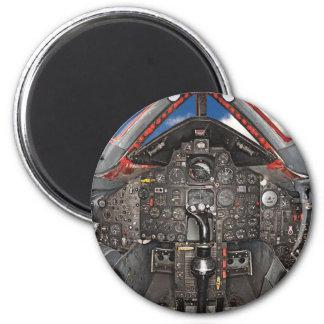 SR71 Blackbird Aircraft Cockpit Magnet