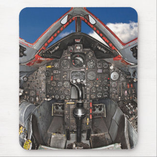 SR71 Blackbird Aircraft Cockpit Mouse Pad
