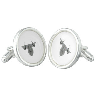 SR71 Blackbird Cufflinks